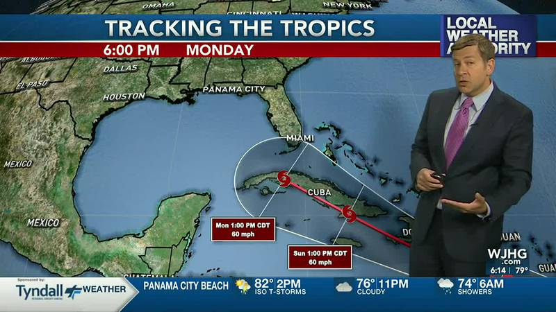 More rain is in the forecast and possibly tropical trouble next week.