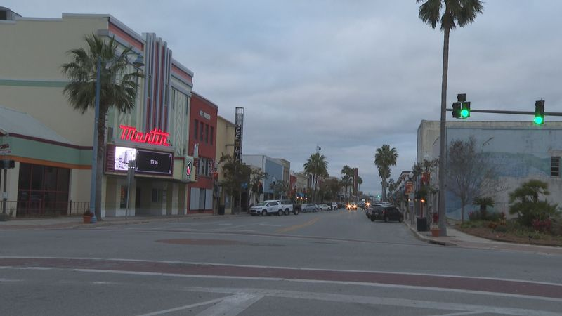 While the rest of the U.S.'s job losses are up, Downtown Panama City's seems to be down.