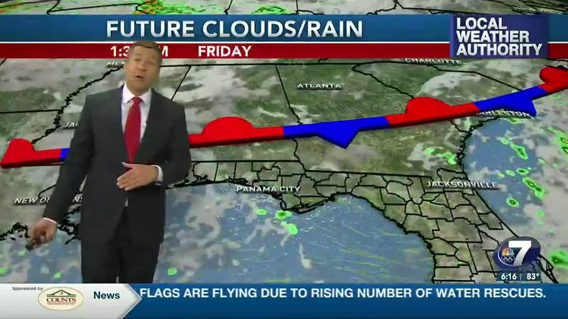More rain is in the forecast over the next several days.