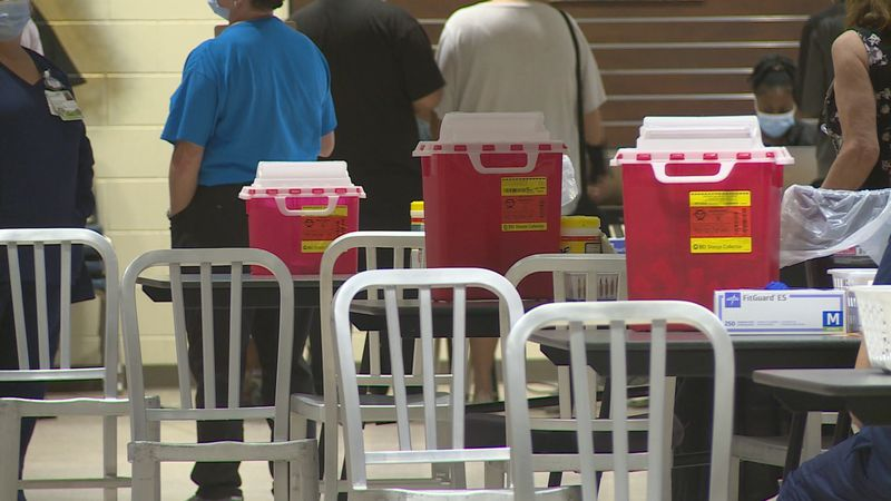 A Pfizer clinic vaccinated people in Bay County Saturday.