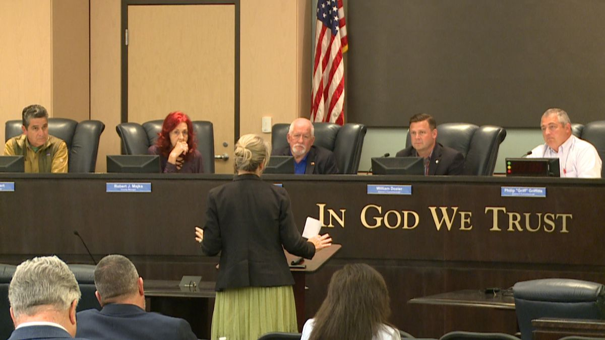 The task force discussed hurricane relief money and the upcoming 2020 census. (WJHG/WECP)