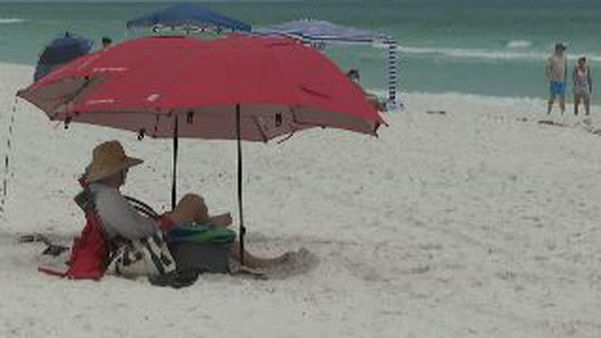 Rooms were at 90 percent occupancy over Memorial Day weekend in South Walton. (WJHG/WECP)