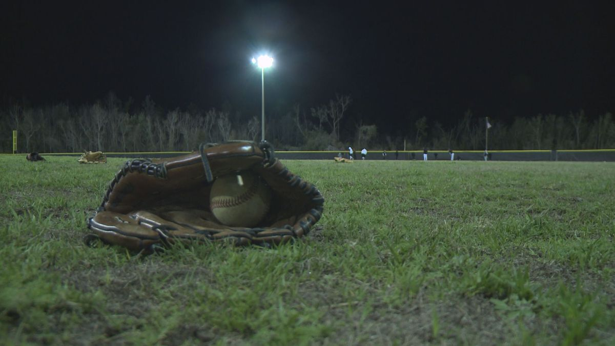 The Rutherford baseball and softball teams put out their own version of midnight madness Sunday night and into Monday morning.