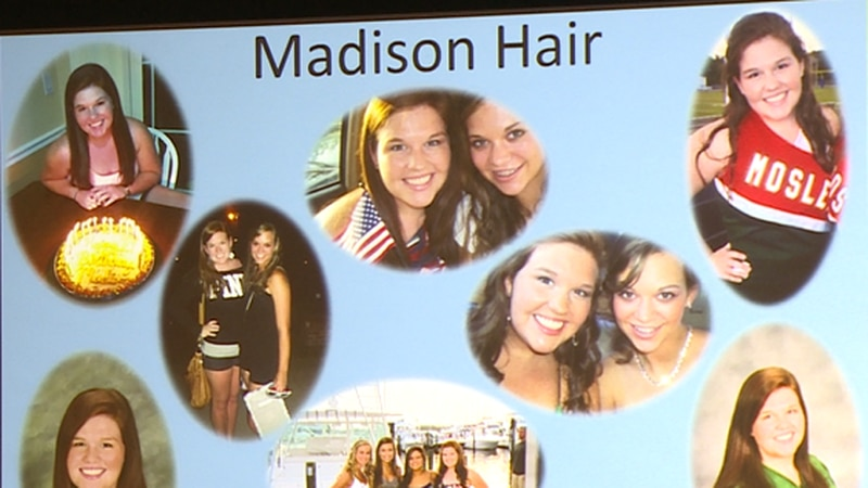 Her mother Jody has been giving these presentations for 9 years, since Madison passed.