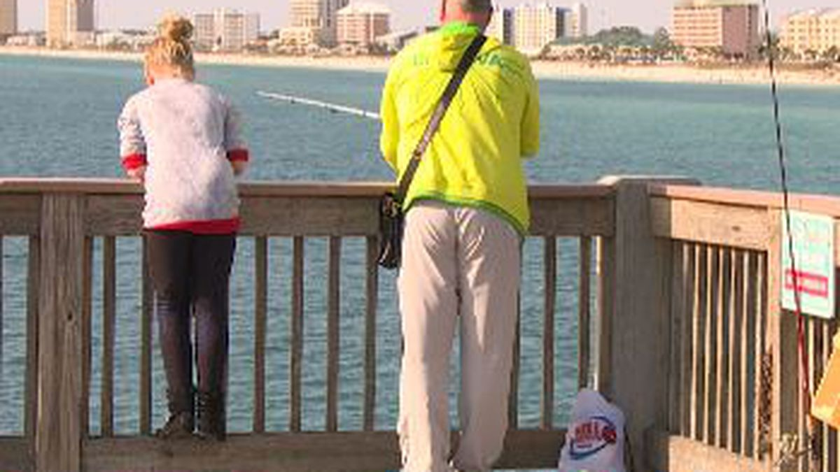 The license-free fishing day provides an opportunity for those who don't yet have a fishing license to go fishing. (WJHG/WECP)