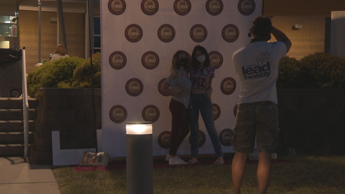 The Nole's Fest block party was filled with the usual fun and games,  activities, and live music.