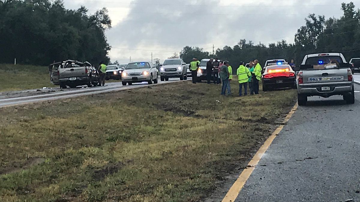 A man was critically injured in an accident Wednesday afternoon. (WJHG/WECP)