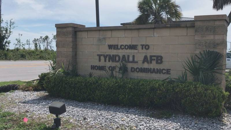 Tyndall Air Force Base officials say there is not an active shooter on the base after reports...