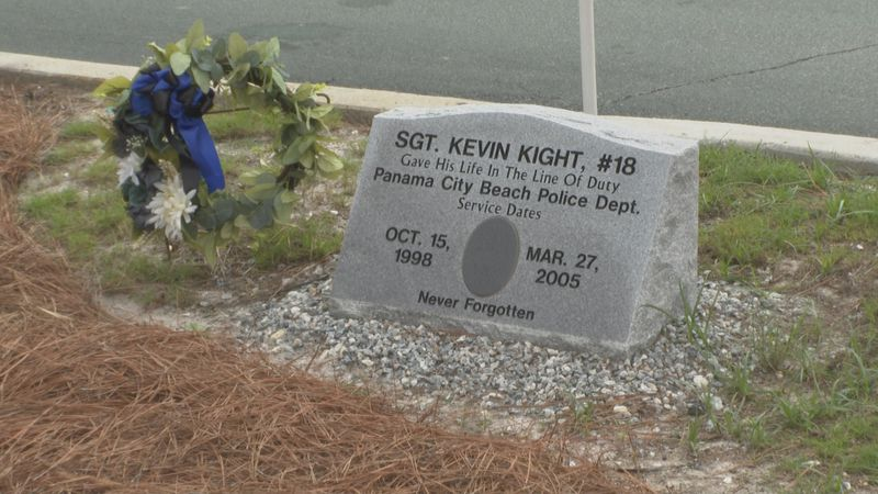Officers honored the life of one of their own who died in the line of duty 16 years ago.