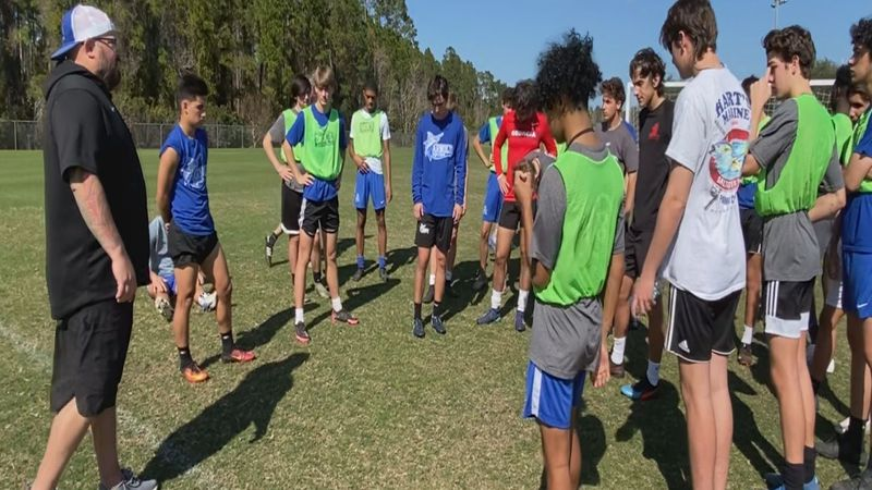 Arnold boy's soccer team chills in St. Augustine Wednesday