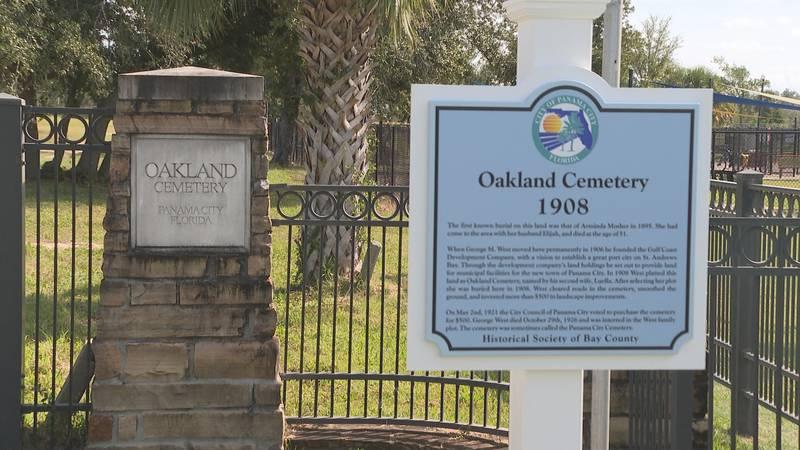The City of Panama City and Historical Society of Bay County held a dedication at Oakland...
