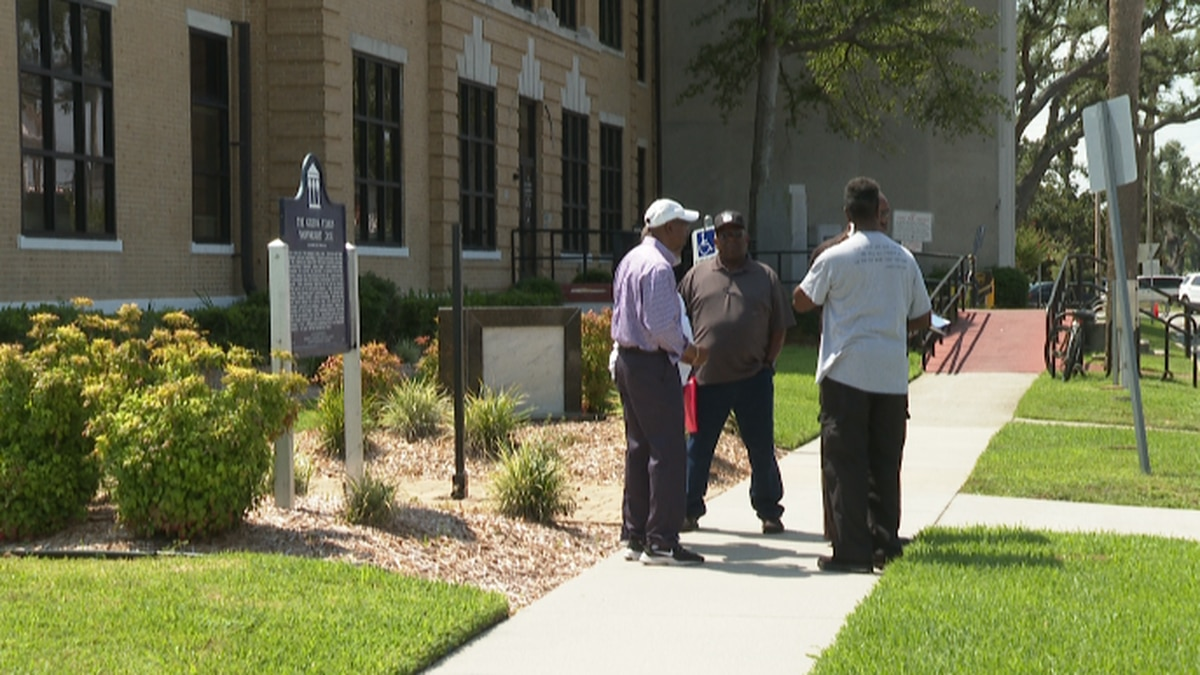 Community leaders voice their concerns over a racially insensitive online video. (WJHG/WECP)