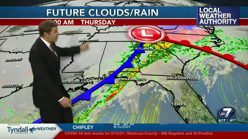 Warmer weather & big storms are in the forecast for the days ahead.