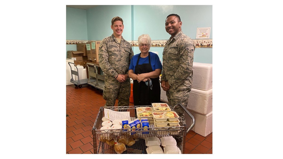 Airmen have partnered with Okaloosa County's Meals on Wheels for more than 15 years. (Hurlburt...