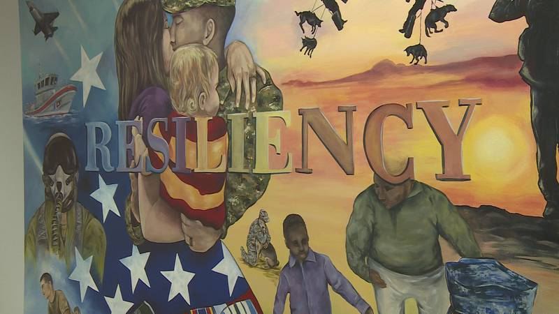 The initiative helps active-duty members and veterans cope with mental health challenges.