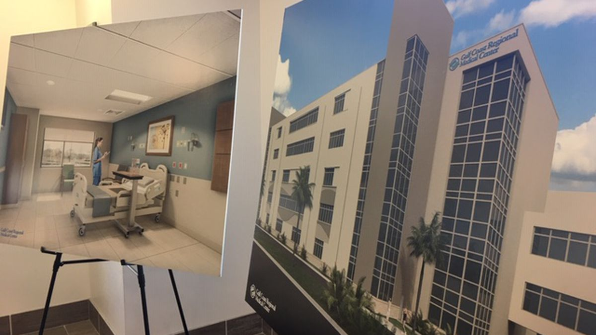 Gulf Coast Regional Medical Center is adding 52 more beds to the facility. (WJHG/WECP)