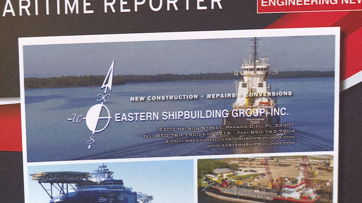 The contract will bring thousands of jobs to the area. (WJHG/WECP)