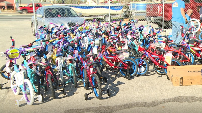 Salvage Santa expects to give out 400 bikes this Christmas season.