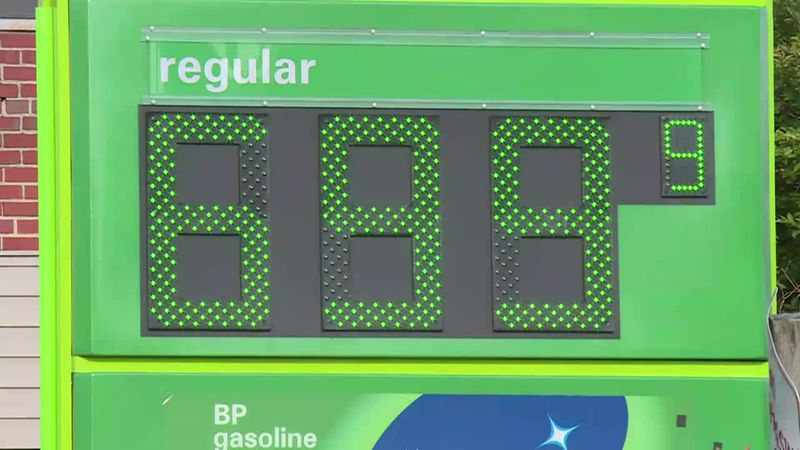The pump prices had doubled in a few days, one customer said.