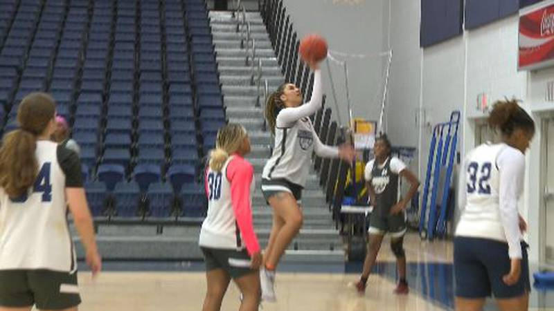 Avalon Miller is the only returning player on the Lady Commodore's roster.