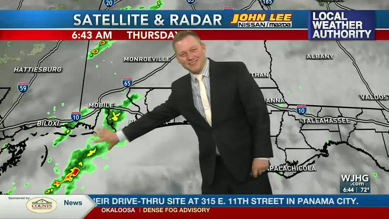 Meteorologist Ryan Michaels says we'll see more clouds in our skies from showers out to our west.