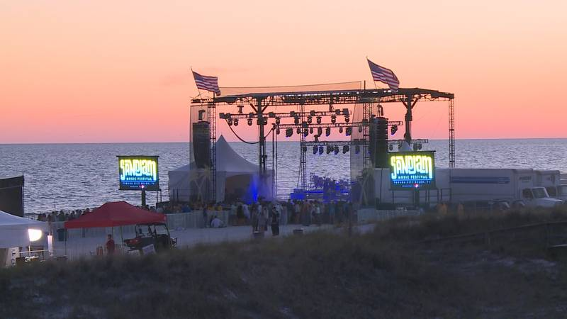 After a unanimous vote, SandJam will now take place at Frank Brown Park instead of near the...