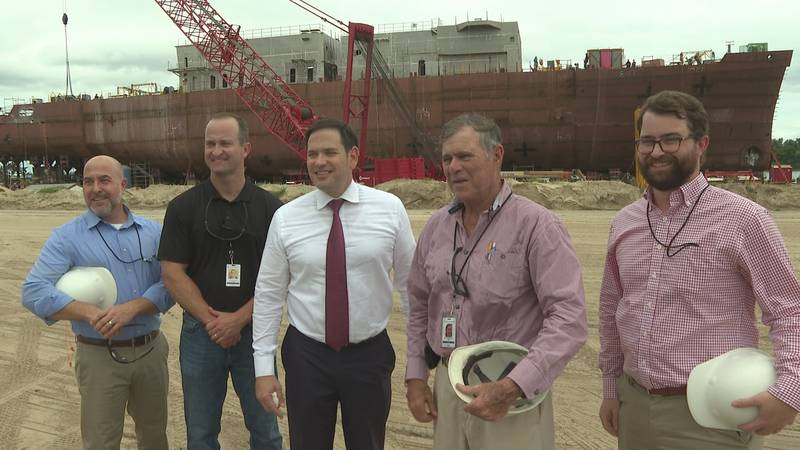 It's not every day a U.S Senator stops in Bay County, but Wednesday afternoon, one toured a...