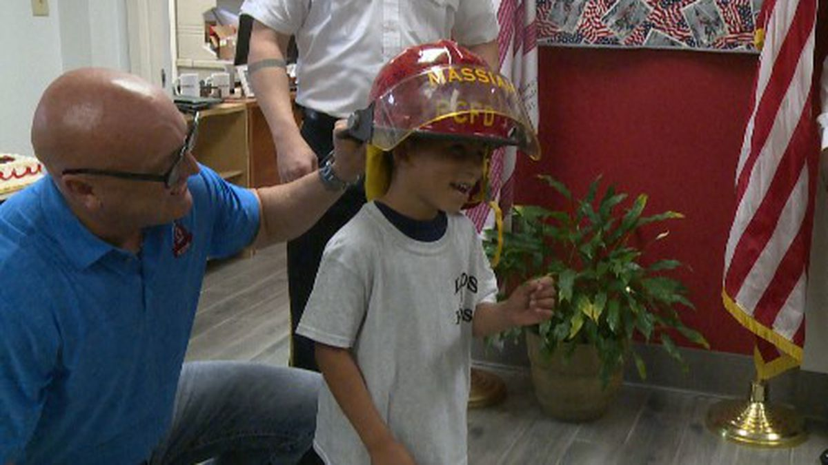 Now those who took life saving actions on Messiah, are honoring his fight for life. (WJHG/WECP)