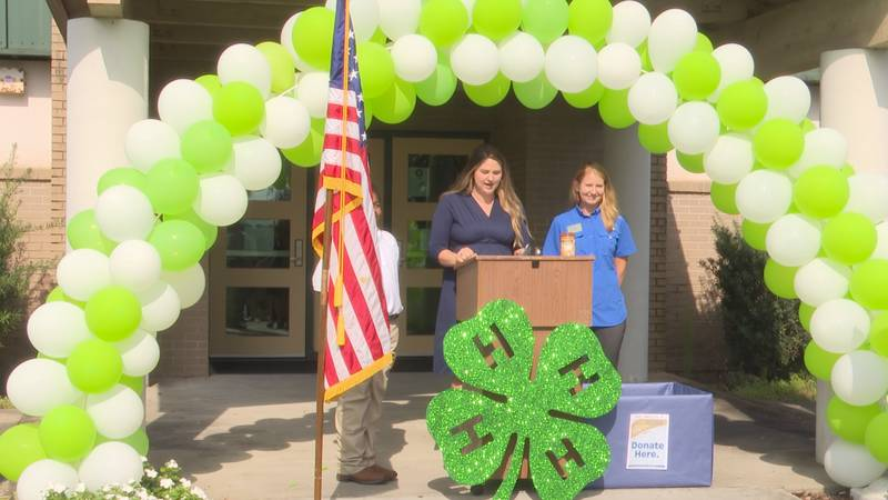 4-H Youth Development Agent Caroline Chappell introduced the Peanut Butter Challenge at...