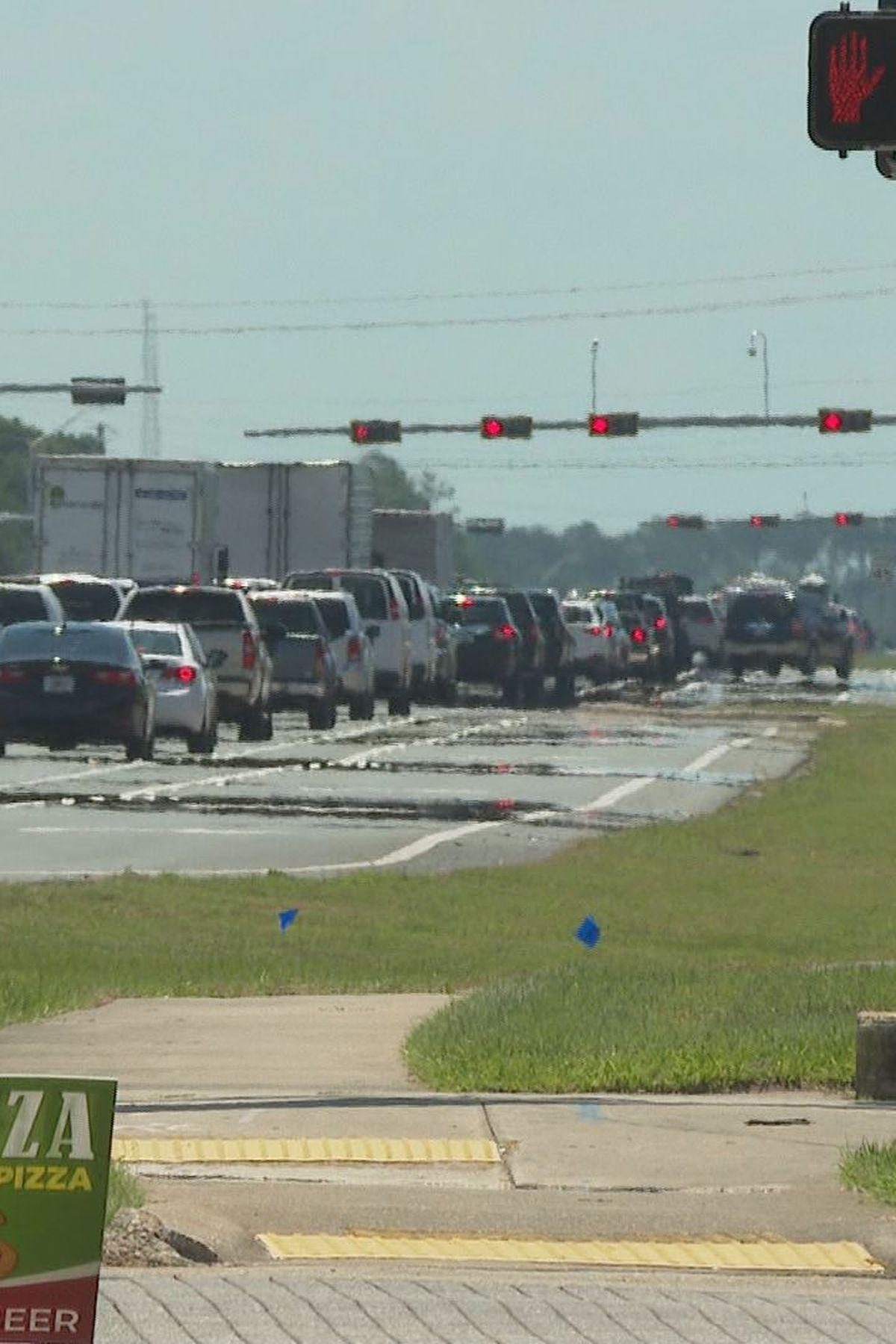 Traffic advisories for Okaloosa and Walton County