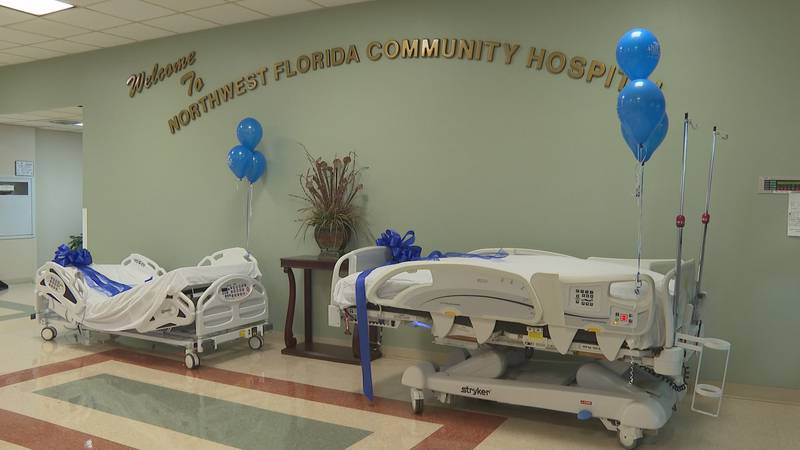 The beds were paid for by the Florida Division of Emergency Management, which saves Northwest...