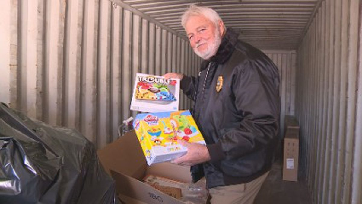 Mikes Jones, better known as Salvage Santa, fixes broken toys and bikes for kids in need. <br />(WJHG)