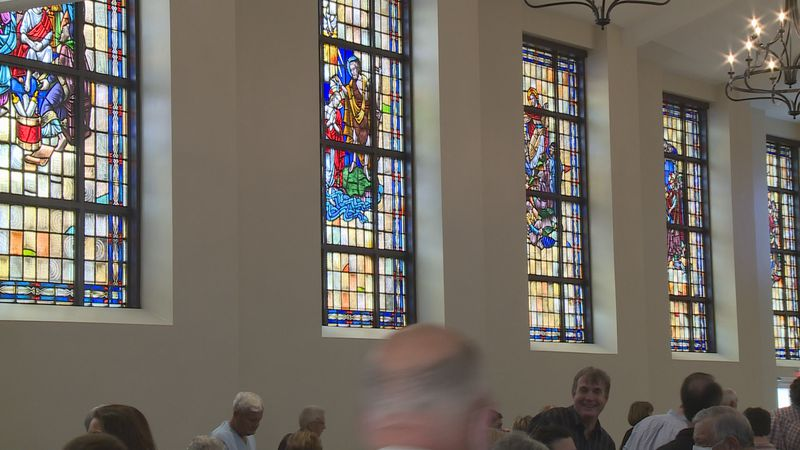 The church had an official grand opening and rededication ceremony on Sunday